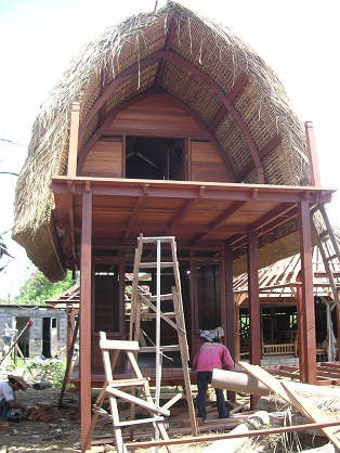 pre-fabrication balinese small house